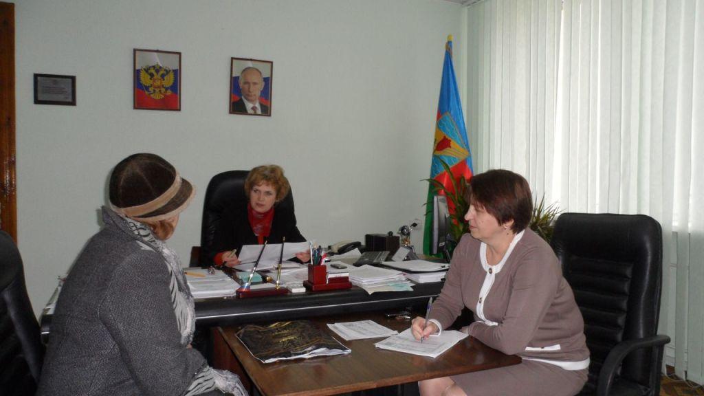 Финиковская В.И. Председатель горсовета